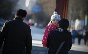 Illustration d'un enfant chinois.