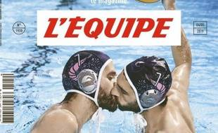 Détail de la Une du «Magazine L'Equipe» du 4 mai 2019.