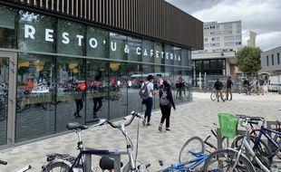 Resto'U Paul Appell  à Strasbourg le 24 09 2020.