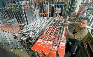 Nicolas Sarkozy remettra aujourd'hui au fabricant de skis Rossignol le label «Origine France Garantie».