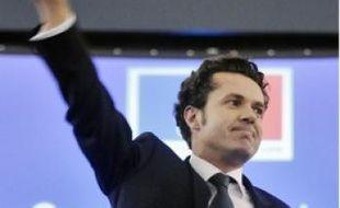 Christophe Béchu, tête de file de l'UMP.