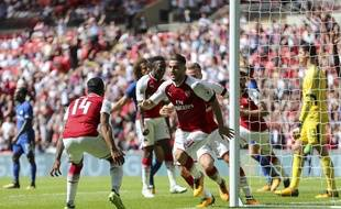 Arsenal a battu Chelsea aux tirs au but lors du Community Shield, le 6 août 2017.