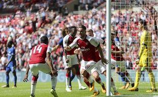 Arsenal a battu Chelsea aux tirs au but lors du Community Shield, le 6 août 2017.