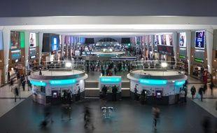La gare de la Défense-Grande Arche, à Puteaux (Hauts-de-Seine), le 5 février 2020.