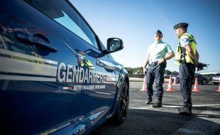 Un contrôle de gendarmerie. (illustration)