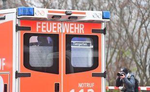 Un véhicule d'urgence en Allemagne (image d'illustration).