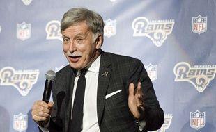 Stan Kroenke, le propriétaire des Los Angeles Rams, une équipe de la National Football League (NFL) aux Etats-Unis