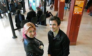 Pendant deux ans, Yana a pu bénéficier des conseils d'Antoine, son tuteur.