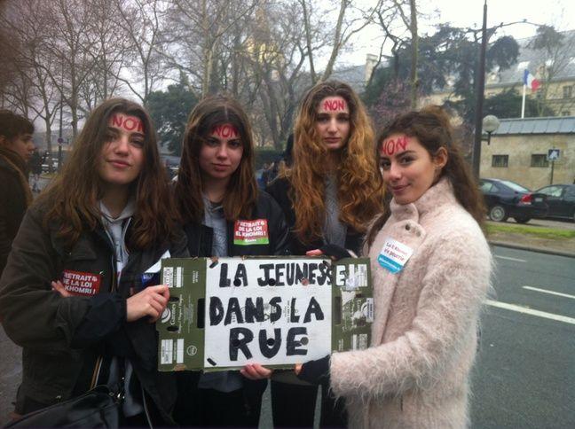 Anouk, Margot, Raphaëlle et Iliana.