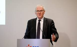 Le PDG d'EDF, Jean-Bernard Levy