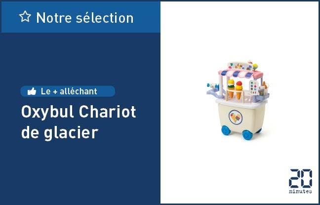 Le chariot de glacier