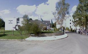 C'est devant l'entrée du CFA d'Aucaleuc qu'une bagarre a éclaté lundi entre deux élèves.