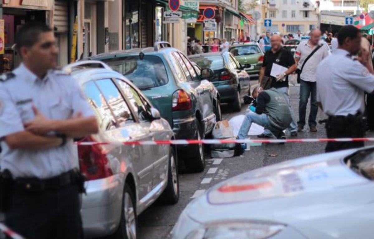 Un braqueur a été tué par balles par un bijoutier, mercredi 11 septembre 2013 à Nice. – F. BINACCHI/20 Minutes