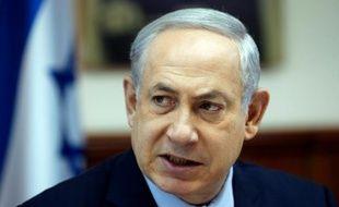 Le Premier ministre israélien Benjamin Netanyahu, le 15 novembre 2015 à Jérusalem
