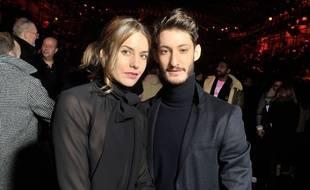 Natasha Andrew et Pierre Niney