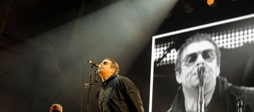 Le chanteur Liam Gallagher au Rize Festival