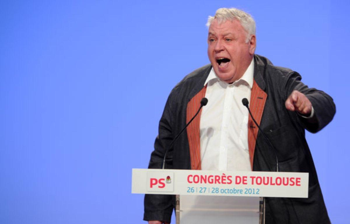 Gérard Filoche, le 27 septembre 2012 à Toulouse – ERIC CABANIS / AFP