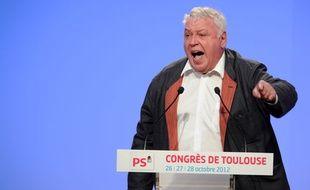 Gérard Filoche, le 27 septembre 2012 à Toulouse