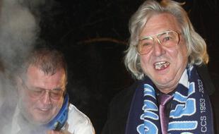 Egon Gindorf se plaisait à aller déguster une soupe avec les supporters de la Meinau.