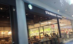 Le Starbucks d'Odysseum.