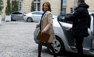 Ségolène Royal à son arrivée le 18 février 2016 à Matignon à Paris