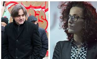 Riss et Coco du journal «Charlie Hebdo»