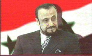 Photo tirée d'une émission de télévision de Rifaat al-Assad le 12 juin 2000