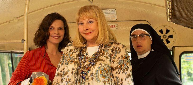 Juliette Binoche, Yolande Moreau et Noémie Lvovsky dans «La Bonne épouse» de Martin Provost