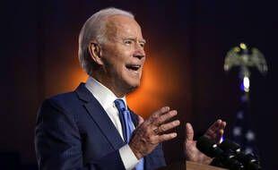 Joe Biden à Wilmington (Delaware), le 6 novembre 2020.
