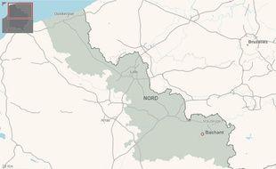 La commune de Bachant, dans le Nord.