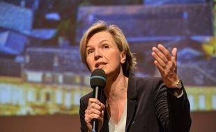 Virginie Calmels, tête de liste LR pour la région Aquitaine-Limousin-Poitou Charentes