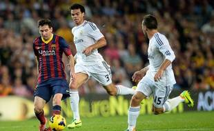 Lionel Messi et le Barça avait battu le Real Madrid en octobre.