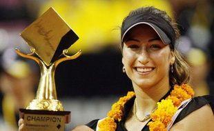 La joueuse de tennis française Aravane Rezaï, victorieuse du Masters de Bali, en Indonésie, le 8 novembre 2009.