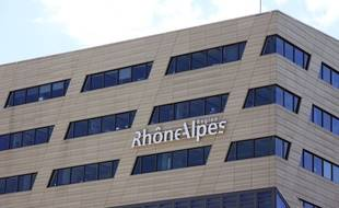Le siège du conseil régional Auvergne-Rhône-Alpes à Lyon.
