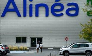 Un magasin Alinéa à La Mezière, près de Rennes, le 18 août 2020.