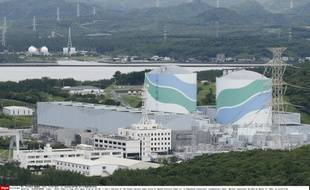 Les réacteurs 1 et 2 de la centrale Sendai située dans le Sud-Ouest du Japon, sur l'île de Kyushu, en juin 2013.