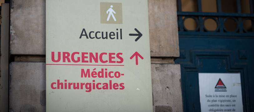 Les urgences de l'hôpital Saint-Antoine à Paris. (Illustration)