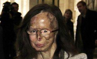 Patricia Lefranc arrive au Palais de Justice de Bruxelles pour le procès de Richard Remes, le 12 mars 2012.