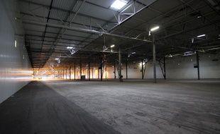 L'un des hangars de PSA est aujourd'hui encore vide à Rennes.