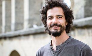 Pablo Servigne, auteur et chercheur interdisciplinaire, createur avec Raphael Stevens du concept de collapsologie, a Montpellier, le 8 octobre 2018.