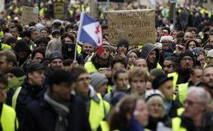 Une manifestation des «gilets jaunes» à Lille (illustration).