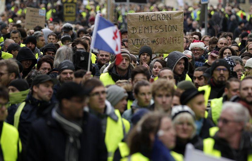 Pas-de-Calais: D'étranges objets saisis sur des « gilets jaunes » en amont de la manif à Lens