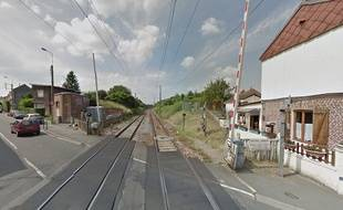 Le passage à niveau de la rue Kléber, à Faches-Thumesnil.