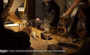 Les patrons d'un bar clandestin de Saint-Malo avaient témoigné dans un reportage diffusé dans l'émission Sept à huit.