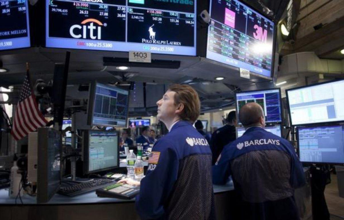 L'indice composite des indicateurs économiques américains a rebondi en mai mais il est le signe que la croissance aura du mal à gagner de l'élan dans les mois à venir, a indiqué jeudi le Conference Board. – Allison Joyce afp.com