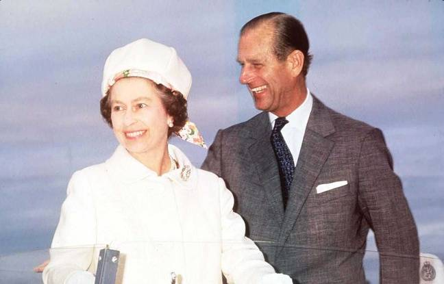 Britain's Queen Elizabeth II and Prince Philip in Ottawa in 1977 on the occasion of her Silver Jubilee year. Ottawa, CANADA - 1977