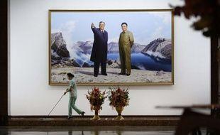 Dans cet hôtel, ce sont les leaders Kim Jong-un et Kim Jong-il qui accueillent les touristes.