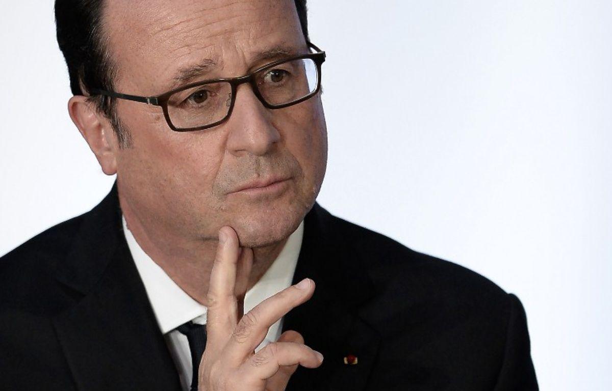 Le chef de l'Etat François Hollande – FREDERICK FLORIN / AFP