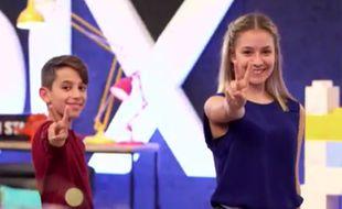 Cyril et Célia, frère et sœur mais aussi candidats concurrents à «The Voice Kids»