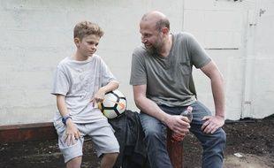 Maleaume Paquin et François Damiens dans «Fourmi» de Julien Rappeneau
